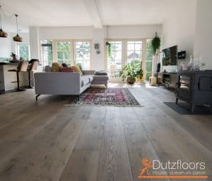 Kasteelvloer in woonkamer