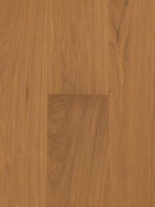 Deze houten vloer is met een naturel gekleurde olie afgewerkt