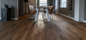 Stoere naturel geoliede houten vloer