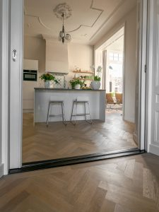 Tapis eiken vloer geschikt voor vloerverwarming