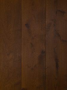 Antiek bruine houten vloer