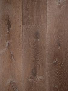 Gerookte rustieke houten vloer
