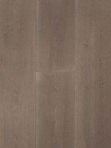 Deze grijze vloer is geborsteld en gerookt