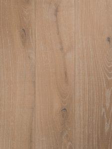 Licht verouderd en geborstelde houten vloer.