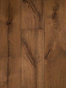 Deze verouderde duoplank houten vloer maken wij op maat voor je.