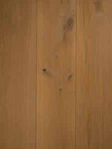 Wit geschaafde vloer dubbel gerookt van hoge kwaliteit eiken