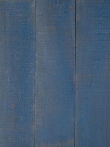Unieke blauwe houten vloer voor een uniek interieur