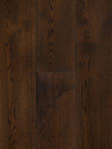 Donker bruine houten vloer