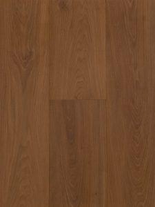 Deze duoplank houten vloer is geborsteld en gerookt.