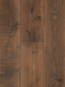Geborstelde eiken houten kasteelvloer