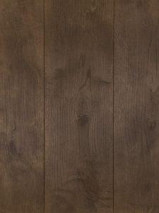 Deze houten vloer is geborsteld en gebeitst