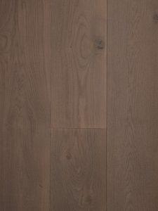 Grijs bezaagde en geborstelde houten vloer van Dutzfloors