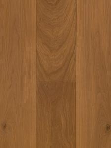 Deze vloer is met een naturel kleurige olie bewerkt.
