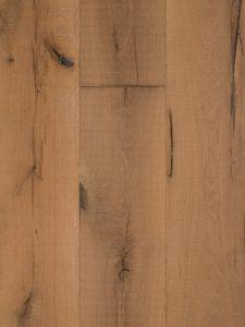 Deze houten vloer is robuust en karakteristiek