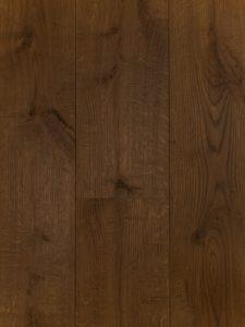 Deze bruine ultraviolette duoplank vloer is sterk en slijtvast