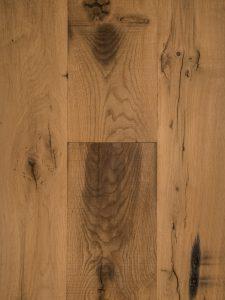Deze oud eiken houten vloer is 80 jaar oud