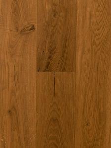 Deze warme naturel vloer is van hoge kwaliteit Europees eiken