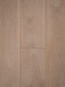 Deze wit gerookte houten vloer is met ultraviolette geolied, sterk en slijtvast