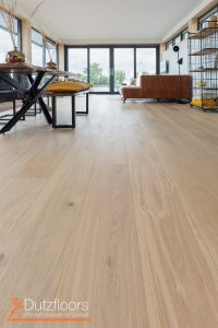Blanke vloer in Friesland