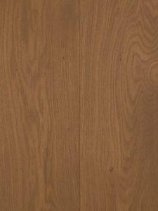 Bruine budget houten vloer van hoge kwaliteit Europees eiken.