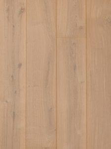 Deze doe het zelf witte houten vloer is gemakkelijk om zelf te leggen