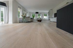 Geschaafde houten vloeren