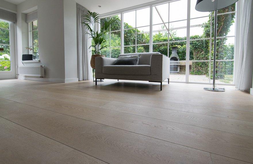 Scandinavische witte vloer