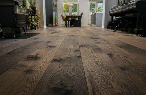 Eiken houten vloer Leek