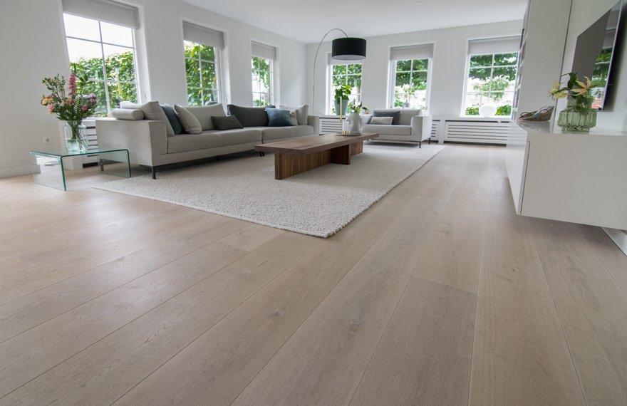 Eiken houten vloer Zuidhorn