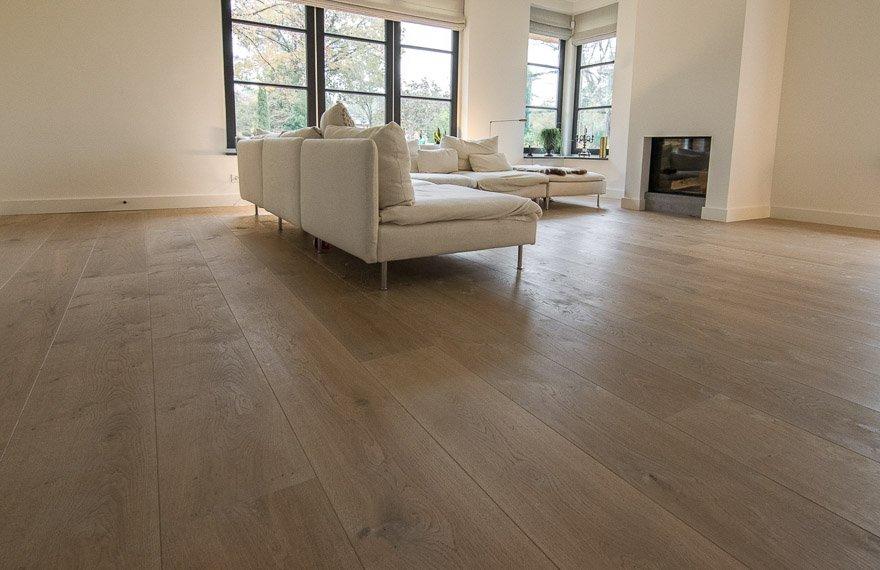 Eiken houten vloeren Hoogezand