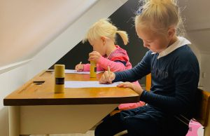 Kinderen showroom Eelderwolde