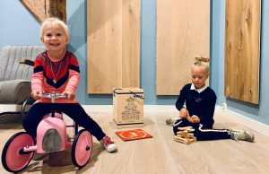 Kinderen showroom Wolvega