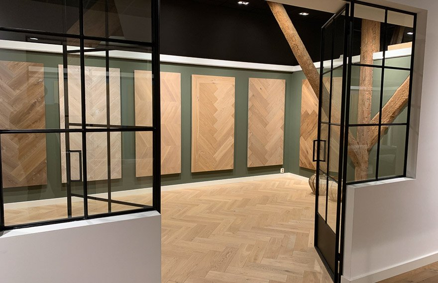 Showroom Dutzfloors Amsterdam