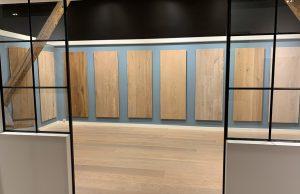 Stalen showroom Dutzfloors