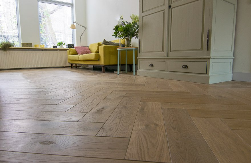 Visgraat vloeren Almere