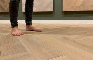 Vloerverwarming houten vloer Zwolle