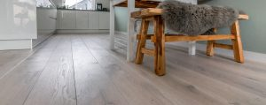 Geborstelde houten vloeren