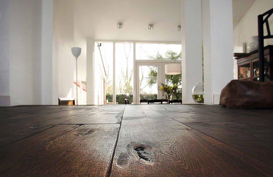 Breedtes en lengtes houten vloeren
