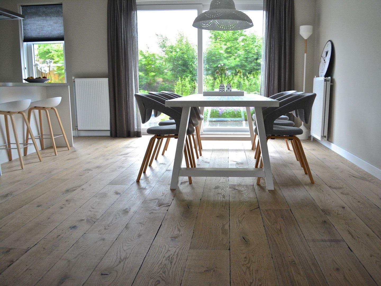 Eiken houten kasteelvloeren