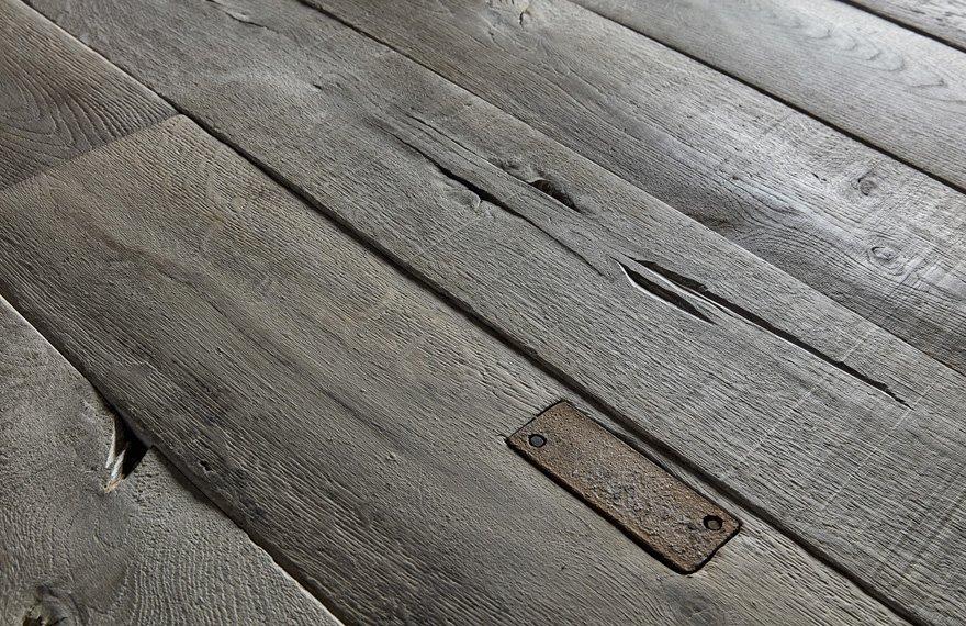 Oude houten vloeren