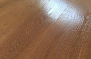 Woca geoliede houten vloer