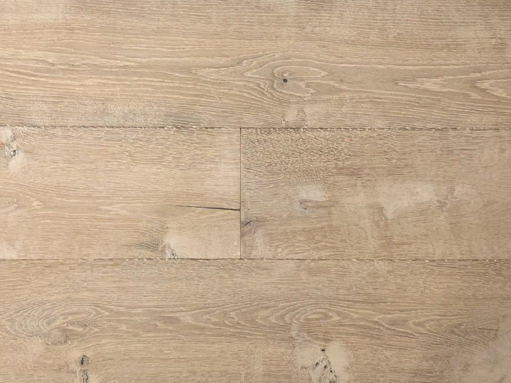 Getrommelde eiken houten vloeren