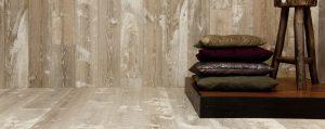 Getrommelde eiken planken vloeren