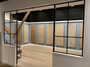 Showroom planken vloeren Dutzfloors