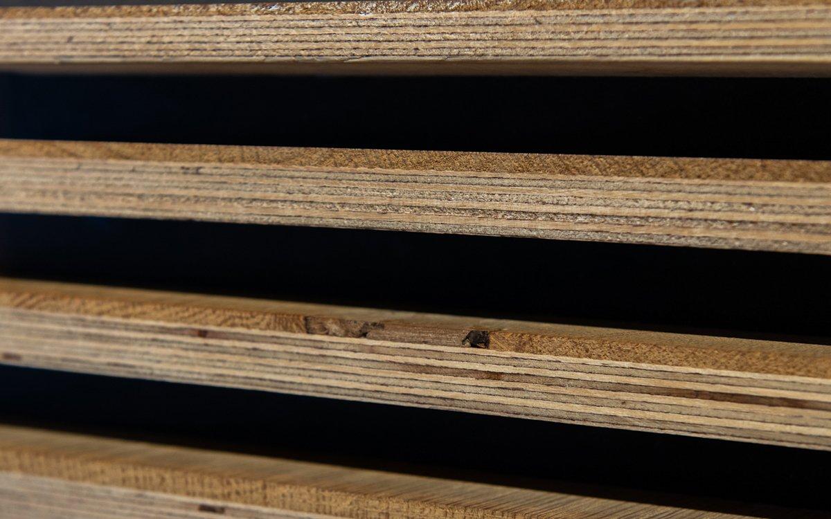 Diktes houten vloeren