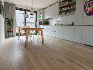 Houten vloer in Meerstad