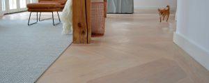 Houten vloeren en vloerverwarming