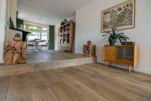 Kasteelvloer voor op vloerverwarming