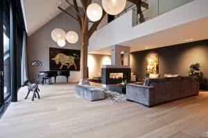 Luxe houten vloer