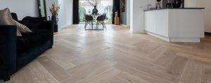 Olie werkwijze houten vloeren